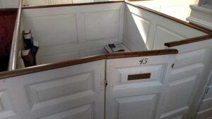 White color Cabinets