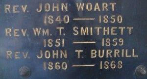 Rev John Woart