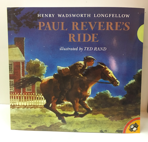 Paul Revere's Ride illustrated book